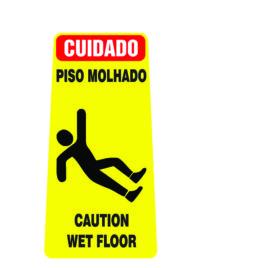 CAVALETE INFORMATIVO – FABRICADO EM  PEAD (Polietileno de Alta Densidade)
