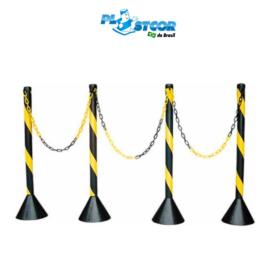 PEDESTAL  DE PLÁSTICO PVC BASE CONCRETO – 0,94 CM