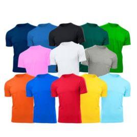 Camisetas – Cores Diversas