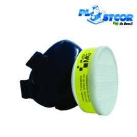 Respirador semi facial 1/4  + Filtro VO + GA Plastcor