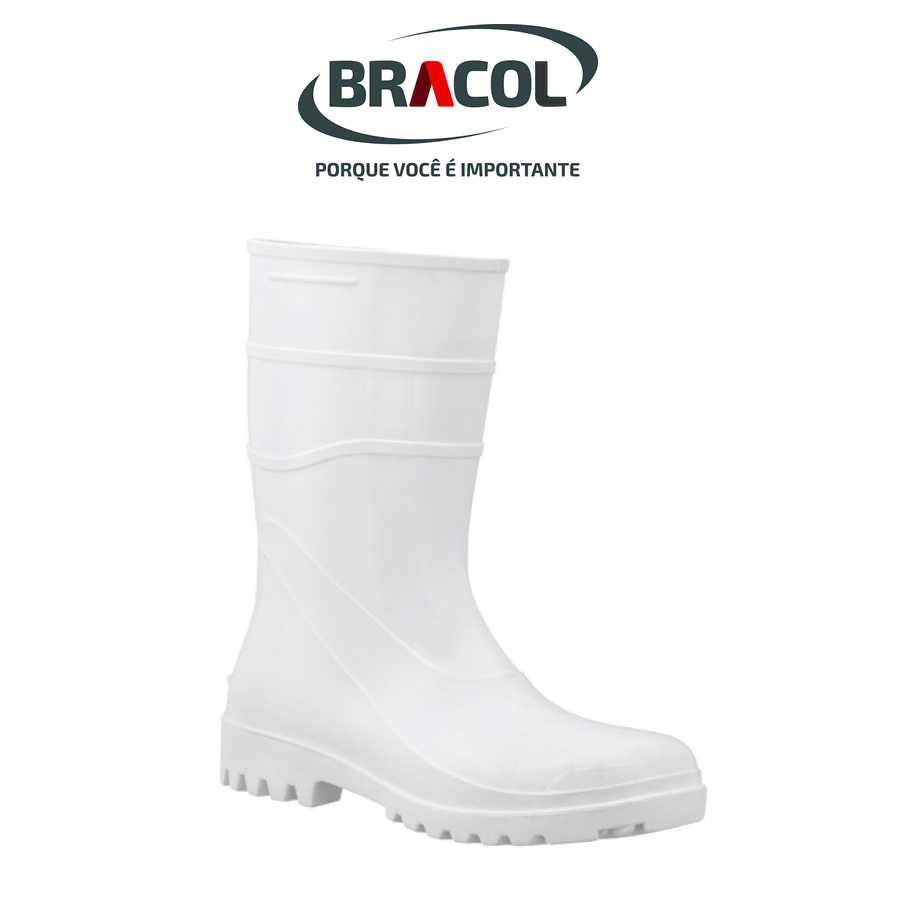 BOTA PVC CANO 28 CM – MARCA BRACOL – Suzano EPI 6d8df4c73d
