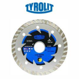 Disco Diamantado Basic Turbo 4.3/8 pol. Tyrolit
