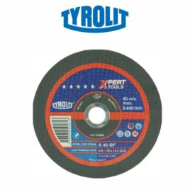 DISCO CORTE INOX 178X1,6X22,23 MM A46-BF XPERT – TYROLIT