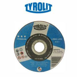 Disco de corte inox 115×1,0x22,23 mm A60R-BFXA Premium Long Life – Tyrolit