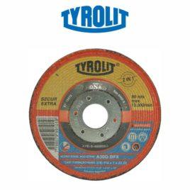 Disco de desbaste 4.1/2″x3/16″x7/8″ A30Q-BFX – Tyrolit