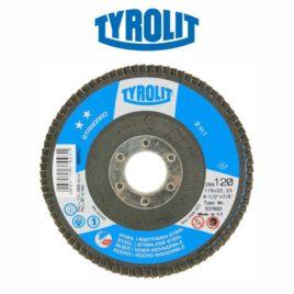 DISCO FLAP 115MM GR120 RETO 28A STANDARD – TYROLIT