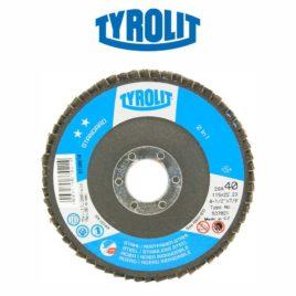 Disco flap 115mm GR40 reto 28A Standard – Tyrolit