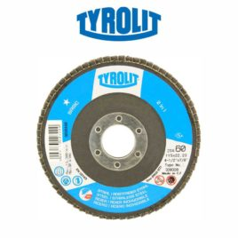 Disco flap 115mm GR60 reto 28A Basic – Tyrolit