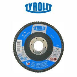 DISCO FLAP 115MM GR60 RETO 28A STANDARD – TYROLIT