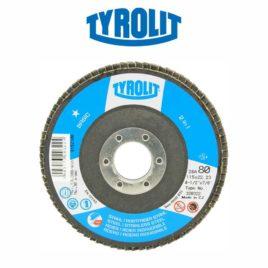 Disco flap 115mm GR80 reto 28A Basic – Tyrolit