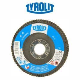DISCO FLAP 115MM GR80 RETO 28A STANDARD – TYROLIT