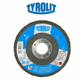 DISCO FLAP 115MM GR40 RETO 28A BASIC – TYROLIT