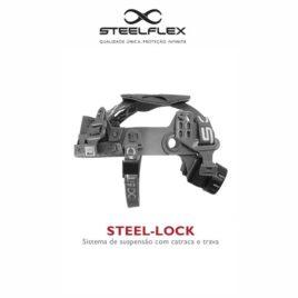 SUSPENSÃO P/ CAPACETE STEELFLEX – TIPO CATRACA STEEL-LOCK