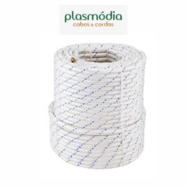 Corda de Segurança 12mm NR-18 (M.T.E.) – Nylon Poliamida Rolo 100 Mts