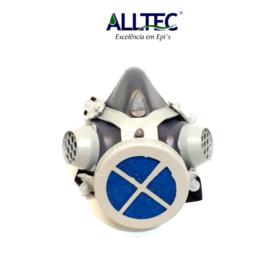 Respirador Facial Alltec 2001 Com Filtro P2 (PFF2) Incluso