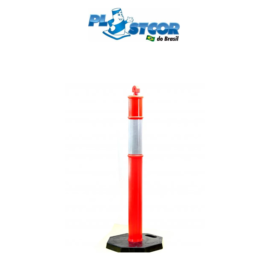 Cone Balizador (Pirulito) Plastcor