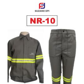Uniforme Eletricista NR10 – CINZA