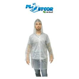 Capa de Chuva Laminada Transparente – PLASTCOR