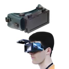 Óculos de Solda Visor Articulado CG 500 Carbografite