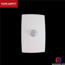 SENSOR DE EMBUTIR 4X2 BRANCO QW011 QUALIWATT