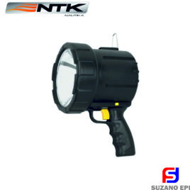 Tocha de mão NTK de 12V com lâmpada halógena